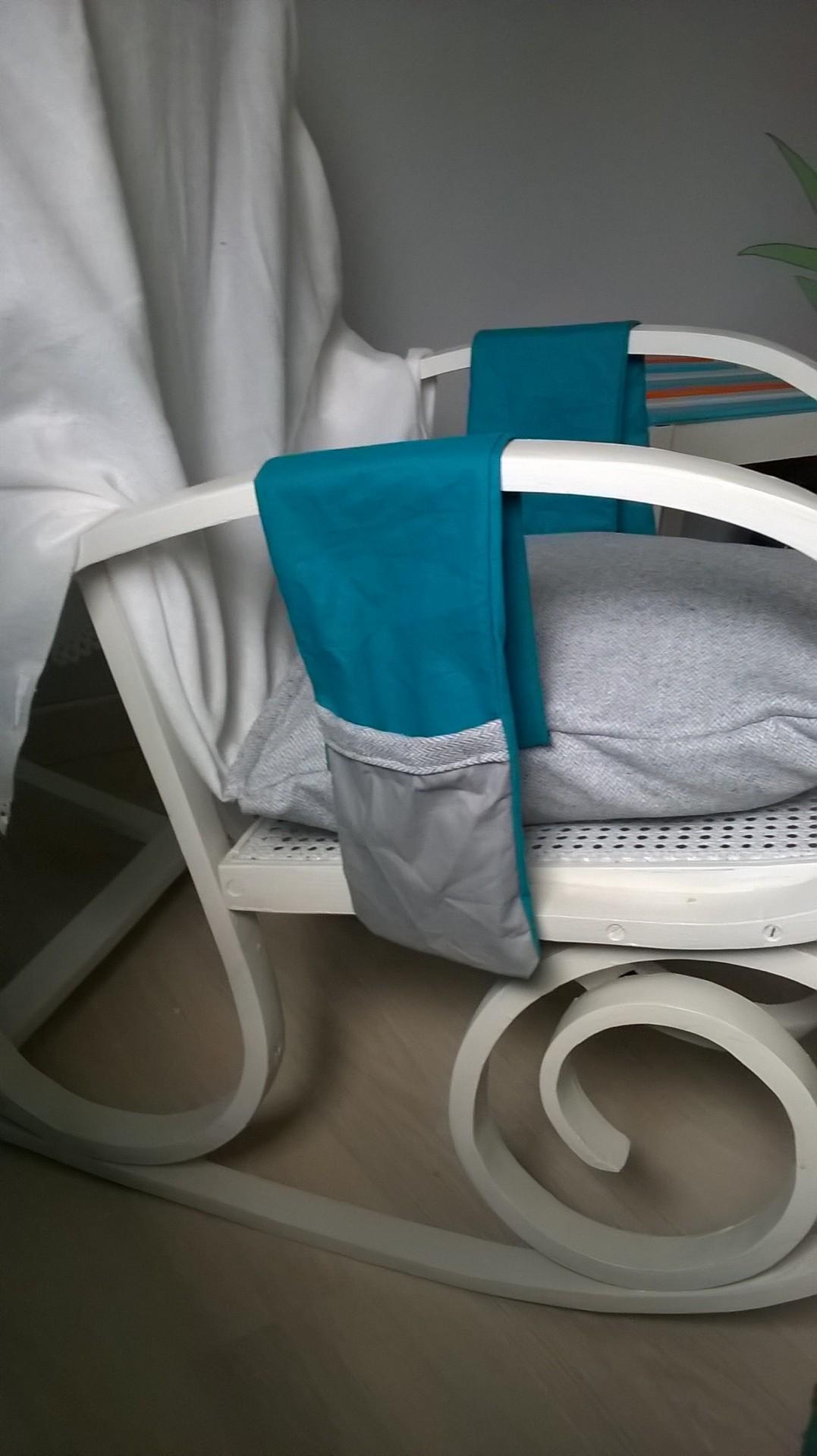 Coussins et couverture pour rocking chair - Coussin pour rocking chair ...